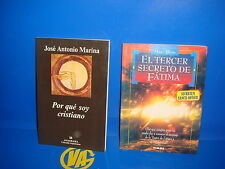 Libro DOS LIBROS descatalogados POR QUE SOY CRISTIANO-EL TERCER SECRETO DE FATIM