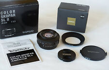 Voigtlander Color Skopar SLII 20mm f3.5 Lens for Canon EF Mount