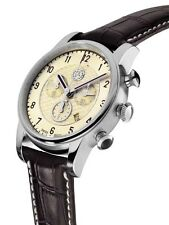 ori Mercedes Benz Chronograph Herren Arm band uhr High Classic SL by Swiss made®