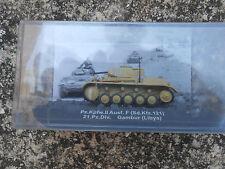 """TANK """"PZ.KPFW.II AUSF. F SD.KFZ.121 21 PZ DIV GAMBUR LIBYA"""" 1/72"""