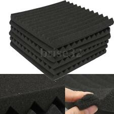 "12Packs Soundproofing Acoustic Studio Wedge Foam Tiles Wall Panels 12"" x 12"""