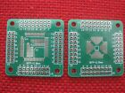 5, QFP32/44/64 0.8mm to QFP16-64 0.5mm Double-sided Adapter Board