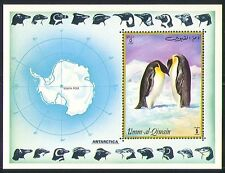 Umm-al-Qiwain Antarctic/Penguins/Birds 1v m/s (n31951)