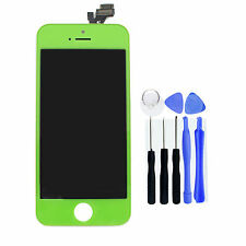 New Green LCD Touch Screen Display Digitizer Replacement for iPhone 5 + Tools