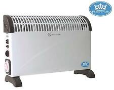 Prem-I-Air 2 kW Home Office Convector Heater with Turbo Fan, Timer & Thermostat