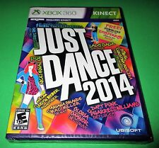 Just Dance 2014 Microsoft Xbox 360 *Factory Sealed! *Free Shipping!