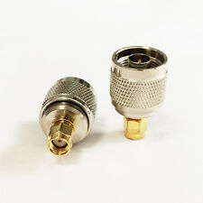 WIFI antenna adapter RP SMA male plug to N type male RF coax connector straight