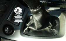 FOR TOYOTA CELICA 1999-2006 GEAR STICK GAITER COVER SHIFT BOOT BLACK LEATHER
