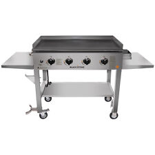 Flat Top Griddle Commercial Propane Grill Outdoor Patio Barbecue Cooking Station