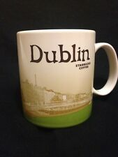 Starbucks Dublin Mug Ireland Ha'Penny Bridge Eire River Liffey Icon Coffee Cup