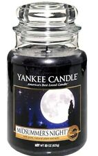 Yankee Candle Midsummer's Night Large 22oz Classic Jar *free shipping*