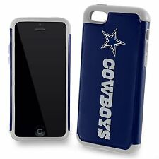 For Apple iPhone 5c 5s 5 and SE Dallas Cowboys Two Piece Dual Hybrid Case
