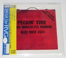 HANK MOBLEY / Peckin' Time JAPAN Mini LP BLUE NOTE CD w/OBI TOCJ-9086