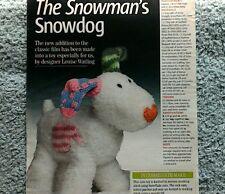the snowman knitting pattern | eBay