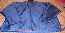 "NEW MENS ""NIKE KOBE DOMINATOR"" 3/4 FULL ZIP BASKETBALL JACKET NAVY Sz L=REDUCED"