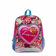 Emoji Royal Cutie 16 Inches School Backpack Kids With Heart Shaped Pocket L@@K
