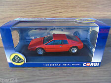 Corgi CC57101 Lotus Esprit S1 Chassis 0100G 'The First Production' Signal Red