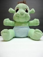 Shrek the Third Baby Ogre Plush Green Stuffed Animal Blue Diaper DreamWorks 12""