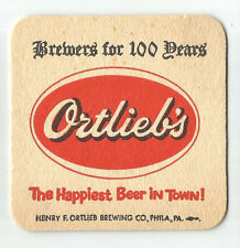 15 Ortlieb's Brewers For 100 Years Beer Coasters Happiest Beer In Town!