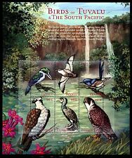 Tuvalu 832-36 MNH Birds Collared Kingfisher, Mottled Petrel, Superb Fairy x11547