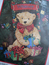 Dimensions Christmas Needlepoint Stocking Craft Kit,TED E. BEAR'S GIFTS,9119,16""
