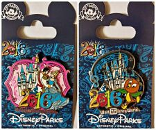 2016 CINDERELLA + ORANGE BIRD lot of 2 Disney Park Pins - NEW