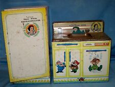 VTG Wolverine Toy Disney's Snow White Tin Sink and Dishwasher/Refrigerator Retro