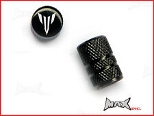 YAMAHA MT-01 Emblem Set Of 2 Lasered Logo Tire Valve Caps