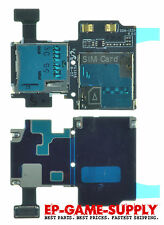 SIM Card Micro SD Reader Tray Flex Parts For Samsung Galaxy S4 I337 AT&T