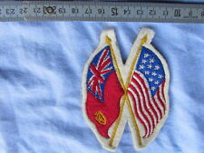 BADGE PATRIOTIQUE US / GB WW1  WWII