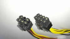 Molex (4 Pin) to PCI-E (6 Pin)(8 Pin) Power Converter Adapter Cable (1+1 = 2pcs)