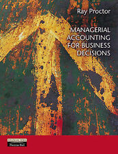 Managerial Accounting for Business Decisions, Proctor, Mr Ray