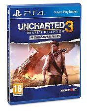 Uncharted 3: Drakes Deception Remastered (PS4)