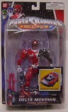 "Power Rangers SPD RED Delta Morphin Ranger New 6""  Factory Sealed 2004"