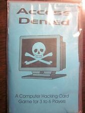 Interformic Games: #540 Access Denied Computer Hacking Card Game (2002) New