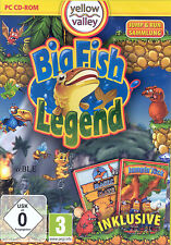 PC CD-ROM + Big Fish Legend + Jump & Run + Magic Maze + Jumpin' Jack + Win 8