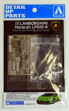 Aoshima 1/24 Lamborghini Huracan LP610-4 Detail Up Photo Etched Parts Set 01713
