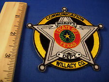 Willacy - Texas Willacy County Sheriffs Communication Police Department Patch