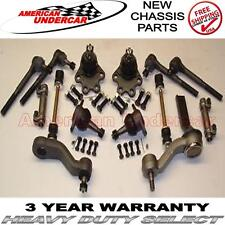 Chevrolet GMC K1500 4x4 Ball Joint Tie Rod Idler Pitman Arm Kit 1988 - 1992