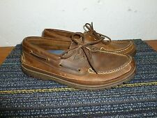 Sperry Top Sider Authentic Original Moc Shoe Brown Men's Size 9 M Very Good!