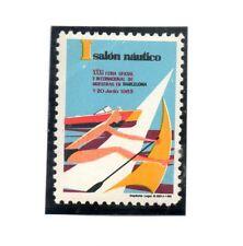 España Salon Nautico Barcelona año 1963 (BT-288)