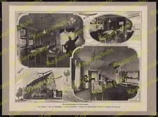 orig. Fototafel Zeppelin Luftschiffschule Lyncker Friedrichshafen Luftfahrt 1910