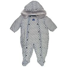 ARMANI BABY Padded Woven Suit in Navy Size 12M