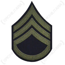 US AMERICAN STAFF SERGEANT ARM RANK BADGE PATCH WW2 REPRO
