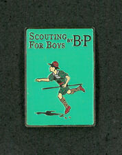 SCOUTS OF JAPAN (NIPPON) - SCOUTING FOR BOY by BADEN POWELL SCOUT SCARF WOGGLE F