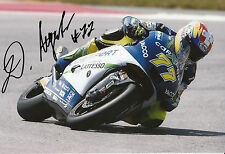 Dominique Aegerter Hand Signed Technomag carXpert Suter 12x8 Photo 2014 Moto2 1.