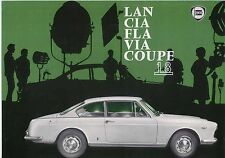 Lancia Flavia Coupe 1.8 1963-66 Original UK Market Leaflet Sales Brochure