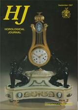 Horological Journal 139/9 Daniels Escapement. Clapham's Clock Museum.   z81