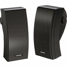 Bose 251 SE Black Outdoor Speakers  New Pair  Bose 251 Black Ship Fast!