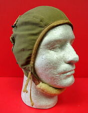 US ARMY AIR CORPS TYPE A-9 SUMMER FLYING HELMET-SIZE LARGE